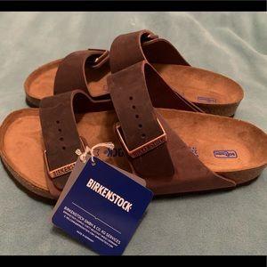 oiled leather Arizona soft footbed Birkenstocks